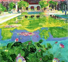 Balboa Park Reflecting Pool - San Diego by RDRiccoboni