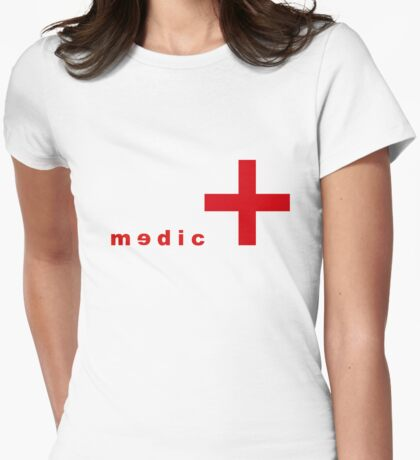 Medic Womens Fitted T-Shirt