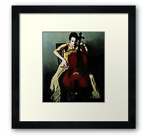 Cello Framed Print