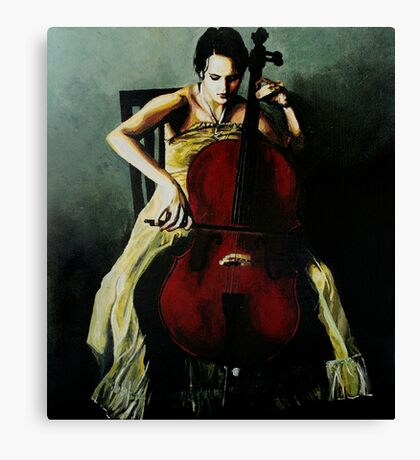 Cello Canvas Print