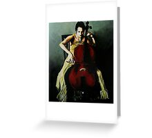 Cello Greeting Card
