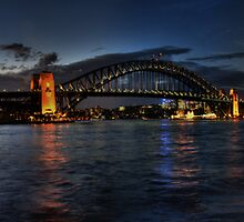 Sunset at Circular Quay by Ben Grant