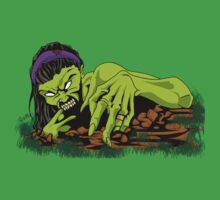 Zombie Gal by SEspider