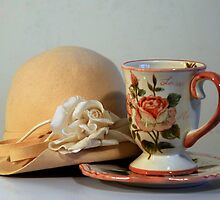 Cup & Hat by Mariann Kovats