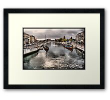 CANAL DA RIA DE AVEIRO Framed Print