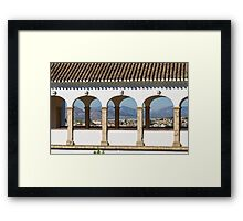 The Sultan's Courtyard Framed Print