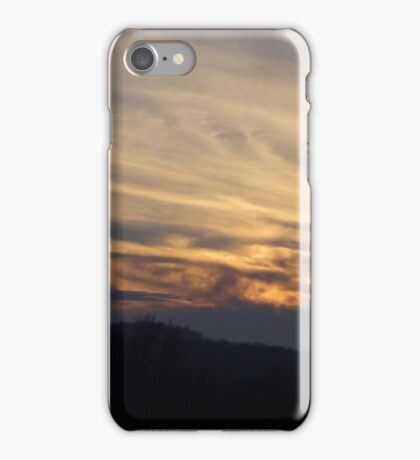A December Sunset iPhone Case/Skin