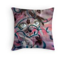 Floral Revolution Throw Pillow