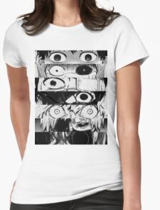 Kaneki - All stages - Tokyo Ghoul Womens Fitted T-Shirt