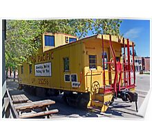 Union Pacific caboose Poster