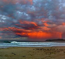 A Storm of rainbow colours by Andrew Carruthers