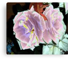 Velveted Roses Canvas Print