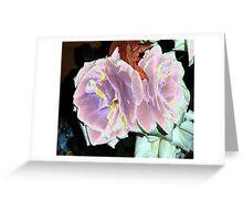 Velveted Roses Greeting Card