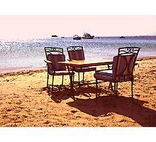 Sea and Sand Photographic Print