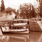 ps Melbourne coming out of a lock at Mildura by georgieboy98