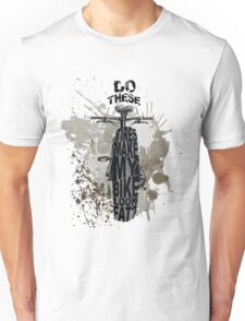 Fat bikers unite! Unisex T-Shirt