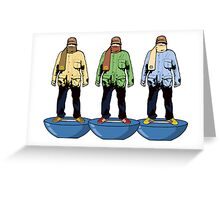 'Subbuteo Dressers' Greeting Card