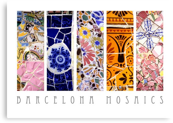 Barcelona Mosaics by Alison Cornford-Matheson