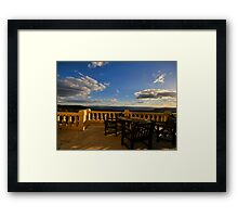 On The Edge - Hydro Magestic, Blue Mountains Series, NSW Australia Framed Print