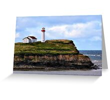 Point Aconi Light Greeting Card