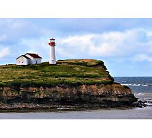 Point Aconi Light Photographic Print