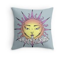 Santa Cruz Sun Throw Pillow