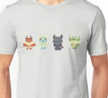 "Tiny Dragons ""How To Train Your Dragon"" Unisex T-Shirt"