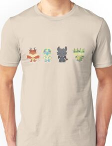 """Tiny Dragons """"How To Train Your Dragon"""" Unisex T-Shirt"""