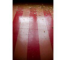 red floor Photographic Print