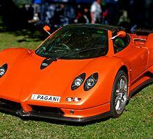 Orange Zonda by Jason Adams