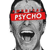 American Psycho Bateman Laugh by VictorVelocity