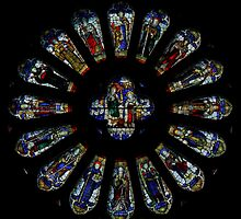 Where stained glass is found - Newcastle NSW 8 by Anthony Ogle