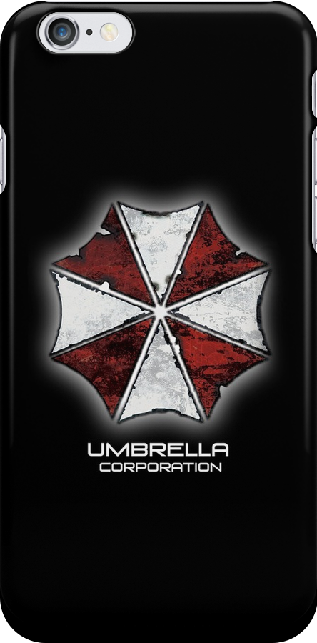 Umbrella Corporation iphone Case, iPod Case, iPad Case and Samsung Galaxy Cases by Kgphotographics