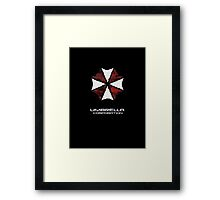 Umbrella Corporation iphone Case, iPod Case, iPad Case and Samsung Galaxy Cases Framed Print