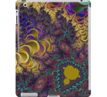 A Colorful Chaotic Lightening Storm iPad Case/Skin