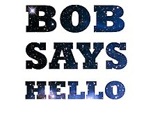 Bob Says Hello Photographic Print