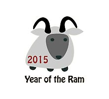 2015 - Year Of the Ram by Eggtooth