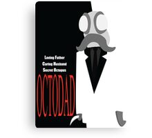 Octodad (Scarface) Canvas Print