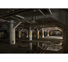 industrial basement Photographic Print