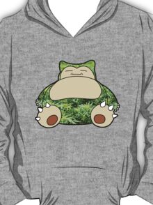 Snorlax Full of Weed T-Shirt