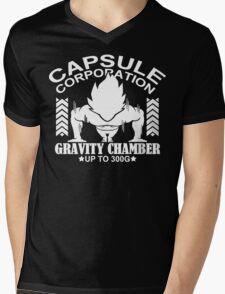 Gravity Chamber Funny Geek Nerd Mens V-Neck T-Shirt