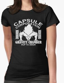 Gravity Chamber Funny Geek Nerd Womens Fitted T-Shirt