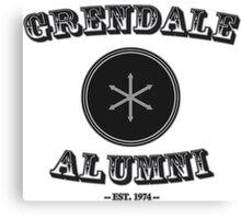 Greendale Alumni Funny Geek Nerd Canvas Print