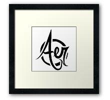 Aer Framed Print