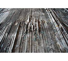 warped floor Photographic Print