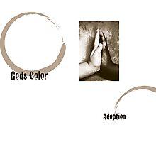 God's color-Adoption Photographic Print