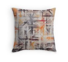Pastel Colored Abstract Background Throw Pillow