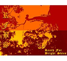 Reach For Bright Skies Photographic Print