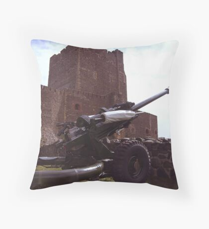 big guns arrive in town ... Throw Pillow
