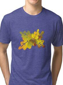 oak foliage Tri-blend T-Shirt
